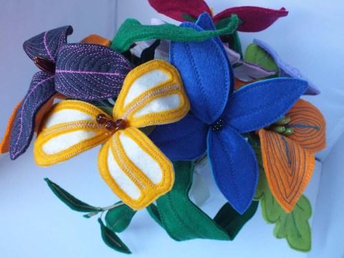 felt flowers 2