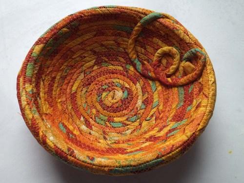 orange dish